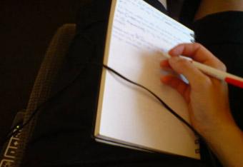 blogga på tåg