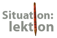 situation: lektion