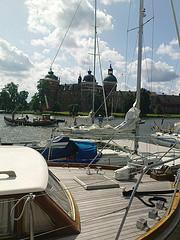 Janis jul09 båt o slott