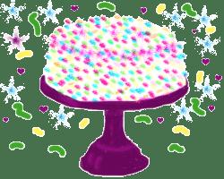 En bild av en tårta