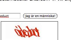 """Googles knapp """"Jag är en människa"""""""