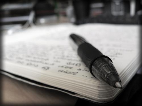penna och block